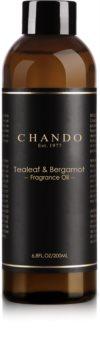 Chando Fragrance Oil Tealeaf & Bergamot nadomestno polnilo za aroma difuzor 200 ml