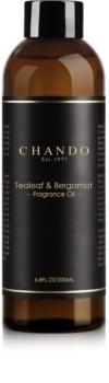 Chando Fragrance Oil Tealeaf & Bergamot reumplere în aroma difuzoarelor 200 ml
