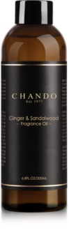 Chando Fragrance Oil Ginger & Sandalwood aroma diffúzor töltelék 200 ml