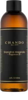 Chando Fragrance Oil Magnolia recharge pour diffuseur d'huiles essentielles 200 ml