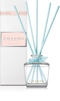 Chando Elegance Soft Cotton diffuseur d'huiles essentielles avec recharge 35 ml