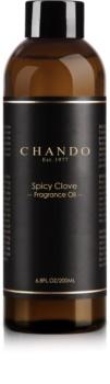 Chando Fragrance Oil Spicy Clove nadomestno polnilo za aroma difuzor 200 ml