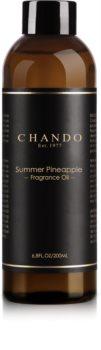 Chando Fragrance Oil Summer Pineapple náhradní náplň  200 ml