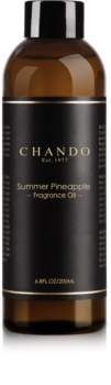 Chando Fragrance Oil Summer Pineapple recharge pour diffuseur d'huiles essentielles 200 ml