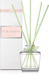 Chando Elegance Sweet Pea diffuseur d'huiles essentielles avec recharge 35 ml