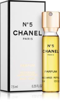Chanel N°5 Parfüm für Damen 7,5 ml Nachfüllung mit Zerstäuber
