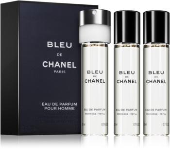 Chanel Bleu de Chanel parfumovaná voda (3 x náplň) pre mužov