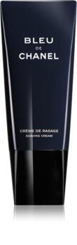 Chanel Bleu de Chanel crema da barba per uomo 100 ml