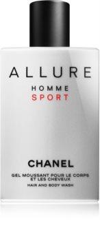 Chanel Allure Homme Sport sprchový gél pre mužov 200 ml