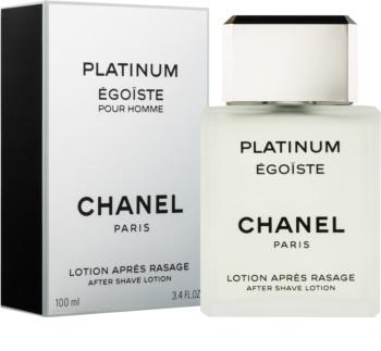 Chanel Égoïste Platinum voda po holení pro muže 100 ml