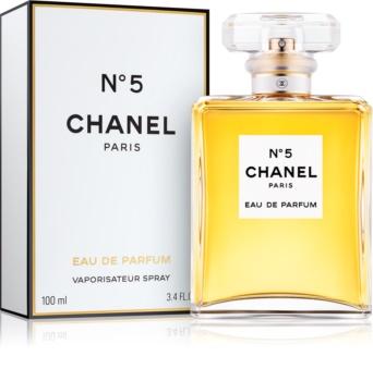 Chanel N°5 Eau de Parfum para mulheres 100 ml