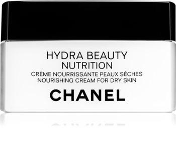 Chanel Hydra Beauty creme nutritivo para pele muito seca
