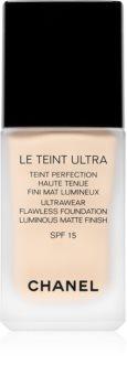 Chanel Le Teint Ultra Long-Lasting Mattifying Foundation SPF 15