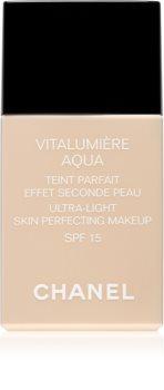 Chanel Vitalumière Aqua make-up ultra light za sjajni izgled lica