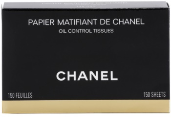 Chanel Accesories Mattierende Tücher