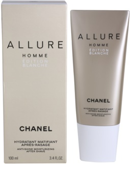 Chanel Allure Homme Édition Blanche Balsamo post-rasatura per uomo 100 ml