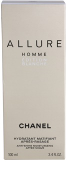 Chanel Allure Homme Édition Blanche balsam po goleniu dla mężczyzn 100 ml