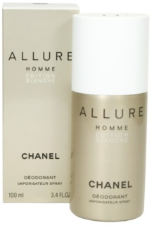 Chanel Allure Homme Édition Blanche Deo Spray voor Mannen 100 ml