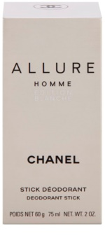 Chanel Allure Homme Édition Blanche deostick pro muže 75 ml