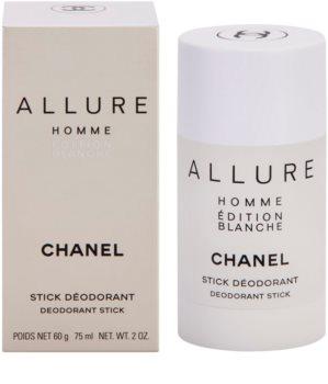 Chanel Allure Homme Édition Blanche Deodorant Stick voor Mannen 75 ml