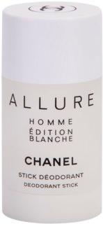 Chanel Allure Homme Édition Blanche dezodorant w sztyfcie dla mężczyzn 75 ml