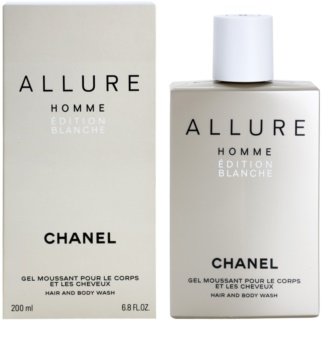 Chanel Allure Homme Édition Blanche sprchový gel pro muže 200 ml