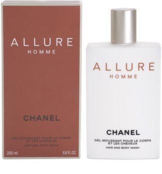 Chanel Allure Homme gel za prhanje za moške 200 ml