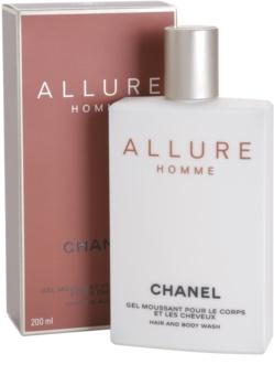Chanel Allure Homme gel doccia per uomo 200 ml