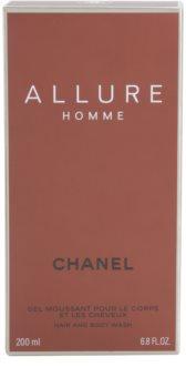 Chanel Allure Homme gel de dus pentru barbati 200 ml