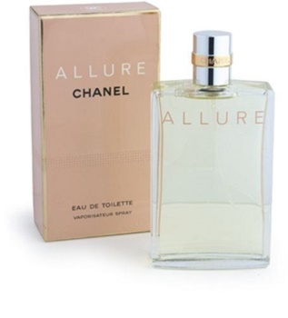chanel allure eau de toilette f r damen 100 ml. Black Bedroom Furniture Sets. Home Design Ideas