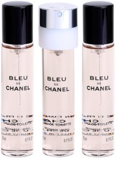 99d2af4f4094b Chanel Bleu de Chanel Eau de Toilette for Men 3 x 20 ml Refill