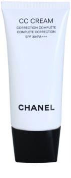 Chanel CC Cream sjednocující krém SPF 30