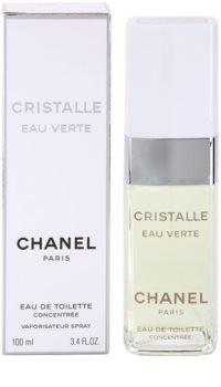 Chanel Cristalle Eau Verte Concentrée eau de toilette pentru femei 100 ml