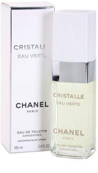 Chanel Cristalle Eau Verte Concentrée eau de toilette pour femme 100 ml