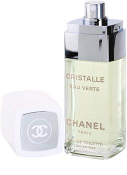 Chanel Cristalle Eau Verte Concentrée toaletná voda pre ženy 100 ml