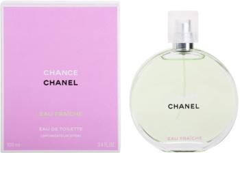 Chanel Chance Eau Fraîche eau de toilette pentru femei 100 ml