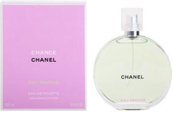 Chanel Chance Eau Fraîche toaletná voda pre ženy 100 ml