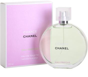 Chanel Chance Eau Fraîche eau de toilette nőknek 100 ml