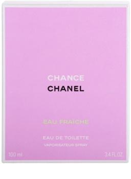 Chanel Chance Eau Fraîche eau de toilette pour femme 100 ml