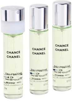 Chanel Chance Eau Fraîche Eau de Toilette for Women 3x20 ml (3x Refill)