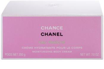Chanel Chance Eau Fraîche creme corporal para mulheres 200 g
