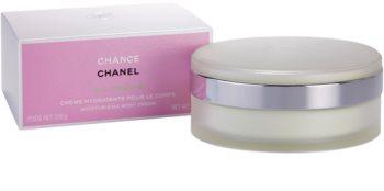 Chanel Chance Eau Fraîche tělový krém pro ženy 200 g