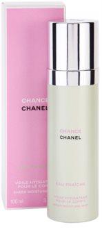 Chanel Chance Eau Fraîche tělový sprej pro ženy 100 ml