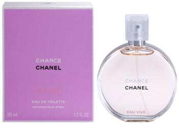 Chanel Chance Eau Vive toaletní voda pro ženy 50 ml