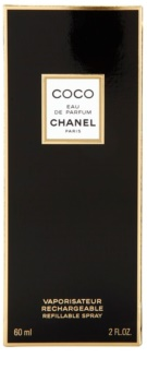 Chanel Coco eau de parfum per donna 60 ml ricaricabile