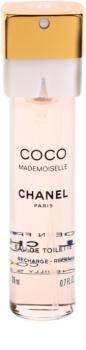 Chanel Coco Mademoiselle Eau de Toilette voor Vrouwen  3x20 ml (3x Navulling)