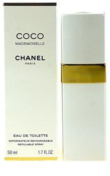 Chanel Coco Mademoiselle Eau de Toilette for Women 50 ml Refillable