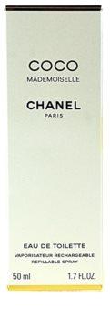 Chanel Coco Mademoiselle toaletna voda za ženske 50 ml polnilna