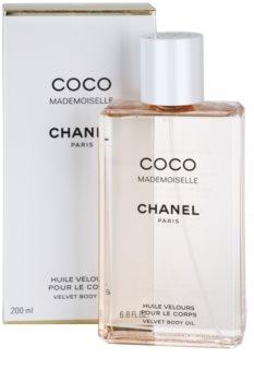Chanel Coco Mademoiselle tělový olej pro ženy 200 ml