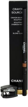 Chanel Crayon Sourcils Eyebrow Pencil with Sharpener